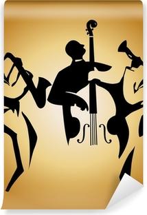 jazz trio Washable Wall Mural