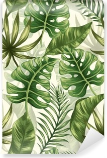 Leaves pattern Washable Wall Mural