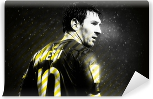 Lionel Messi Washable Wall Mural