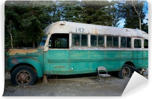Magic Bus 142 from the movie Into The Wild Washable Wall Mural