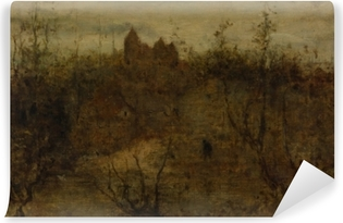 Matthijs Maris - The Enchanted Castle Washable Wall Mural