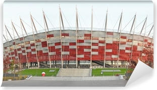 National stadium Warsaw - Poland Washable Wall Mural