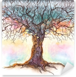 old tree (series C) Washable Wall Mural
