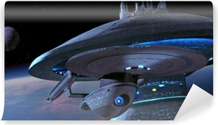 Ship from Star Trek Washable Wall Mural