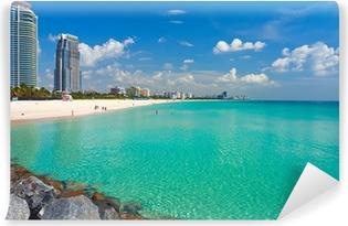 South Beach, Miami, Florida Washable Wall Mural