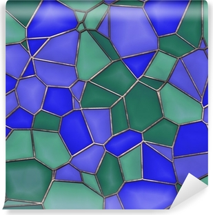 Stained Glass Seamless Texture Tile Washable Wall Mural