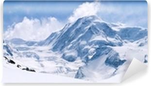 Swiss Alps Mountain Range Landscape Washable Wall Mural