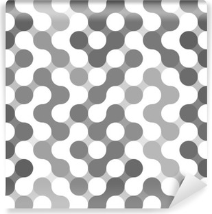 Vector geometric pattern of circles. Washable Wall Mural