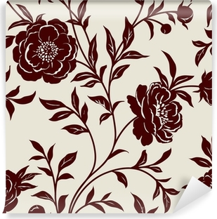 Wallpaper floral Washable Wall Mural