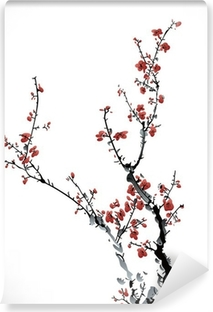 winter sweet Washable Wall Mural
