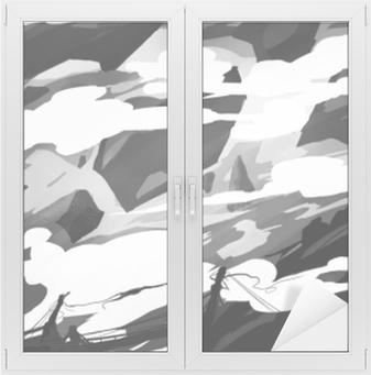 Concept art Window & Glass Sticker