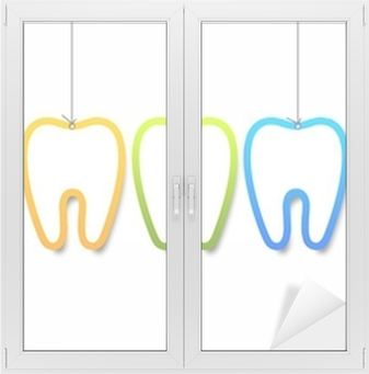 Dental Templates Window & Glass Sticker