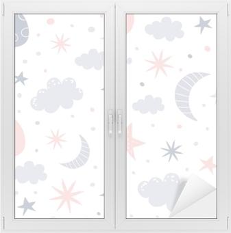 nursery pattern Window & Glass Sticker