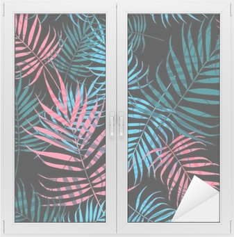 Palm tree foliage Window & Glass Sticker