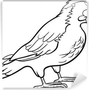 Kivi Kuş Karikatür Boyama Poster Pixers Haydi Dünyanızı