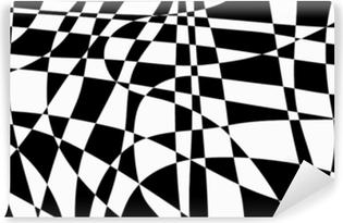 Yıkanabilir Duvar Resmi Siyah ve beyaz soyut düzensiz arka plan