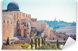 Zelfklevend Fotobehang Al-Aqsa moskee van Omar