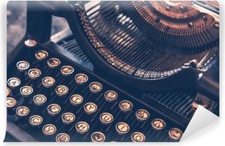 Zelfklevend Fotobehang Antieke schrijfmachine