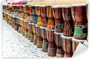 Zelfklevend Fotobehang Arabische darbuka markt.