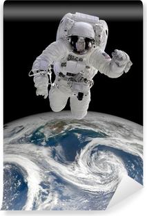 Zelfklevend Fotobehang Astronaut in de ruimte