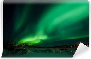 Zelfklevend Fotobehang Aurora Borealis (Noorderlicht)