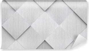 Zelfklevend Fotobehang Betegelde metalen textuur (websitekop)