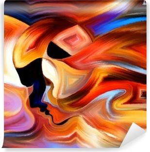 Zelfklevend Fotobehang Bron van Inner Paint
