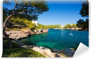 Zelfklevend Fotobehang Cala d'Or baai, eiland Mallorca, Spanje