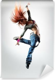 Zelfklevend Fotobehang De danser