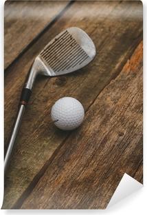 Zelfklevend Fotobehang Golfbal