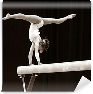 Zelfklevend Fotobehang Gymnast - 2