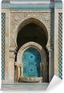 Zelfklevend Fotobehang Hassan II Moskee, Casablanca, Marokko
