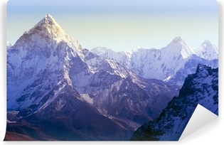 Zelfklevend Fotobehang Himalaya gebergte