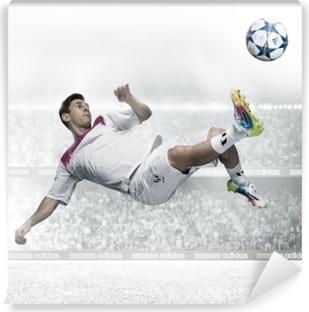Zelfklevend Fotobehang Leo Messi