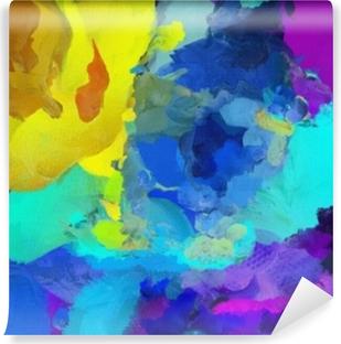 Zelfklevend Fotobehang Levendige kleuren