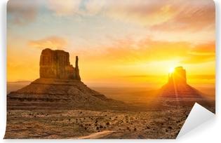 Zelfklevend Fotobehang Monument Valley