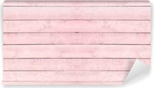 Zelfklevend Fotobehang Naadloze houten textuur roze