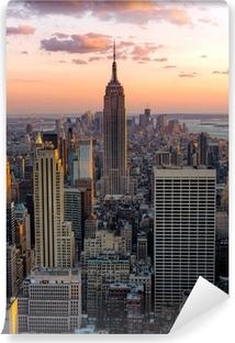 Zelfklevend Fotobehang New York Empire State Building