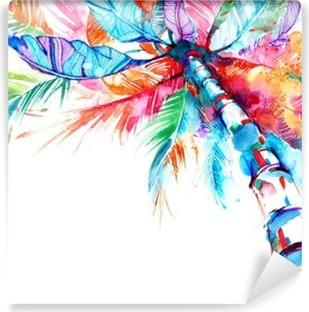 Zelfklevend Fotobehang Palm