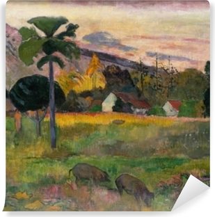 Zelfklevend Fotobehang Paul Gauguin - Haere mai (Kom hier)
