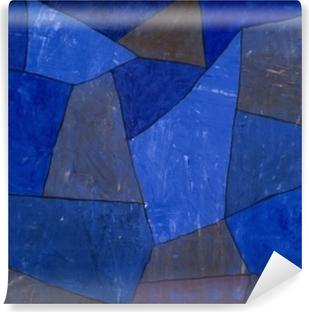 Zelfklevend Fotobehang Paul Klee - Felsen in der Nacht
