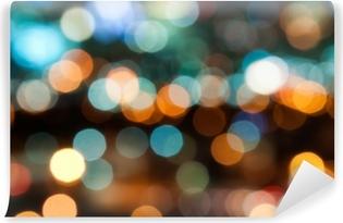 Zelfklevend Fotobehang Stadsverlichting