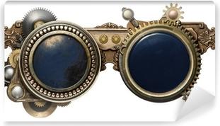 Zelfklevend Fotobehang Steampunk bril