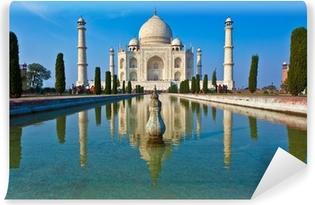 Zelfklevend Fotobehang Taj Mahal in India