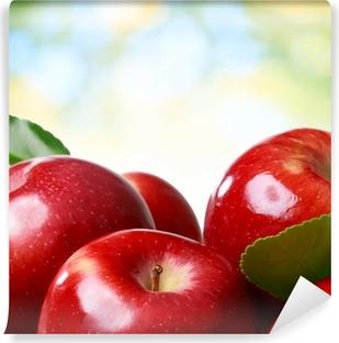 Zelfklevend Fotobehang Verse appelen