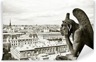 Zelfklevend Fotobehang Waterspuwer Notre-Dame de Paris