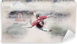 Zelfklevend Fotobehang Wayne Rooney
