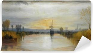 Zelfklevend Fotobehang William Turner - Chichester Canal