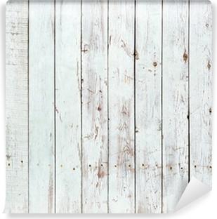 Zelfklevend Fotobehang Zwarte en witte achtergrond van houten plank
