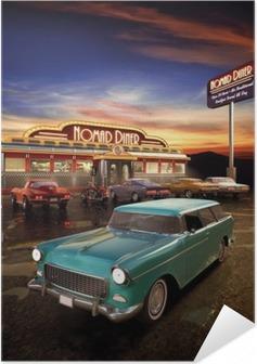 Zelfklevende Poster American Diner